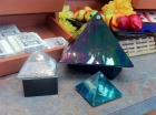 Art Glass Pyramids