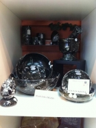 Black Zebra Marble Bowls, Mortar & Pestles & Massage Eggs