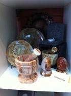 Rainbow Onyx Bowls, Massage Eggs and Mortar & Pestle
