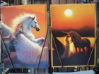 Pegasus & Unicorn Greeting Cards